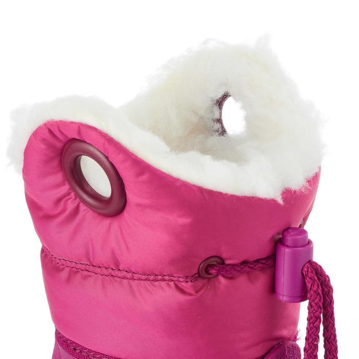 Bottes de neige / luge bébé WARM roses