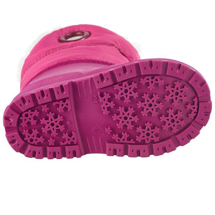 Botas de nieve / trineo bebé WARM rosa