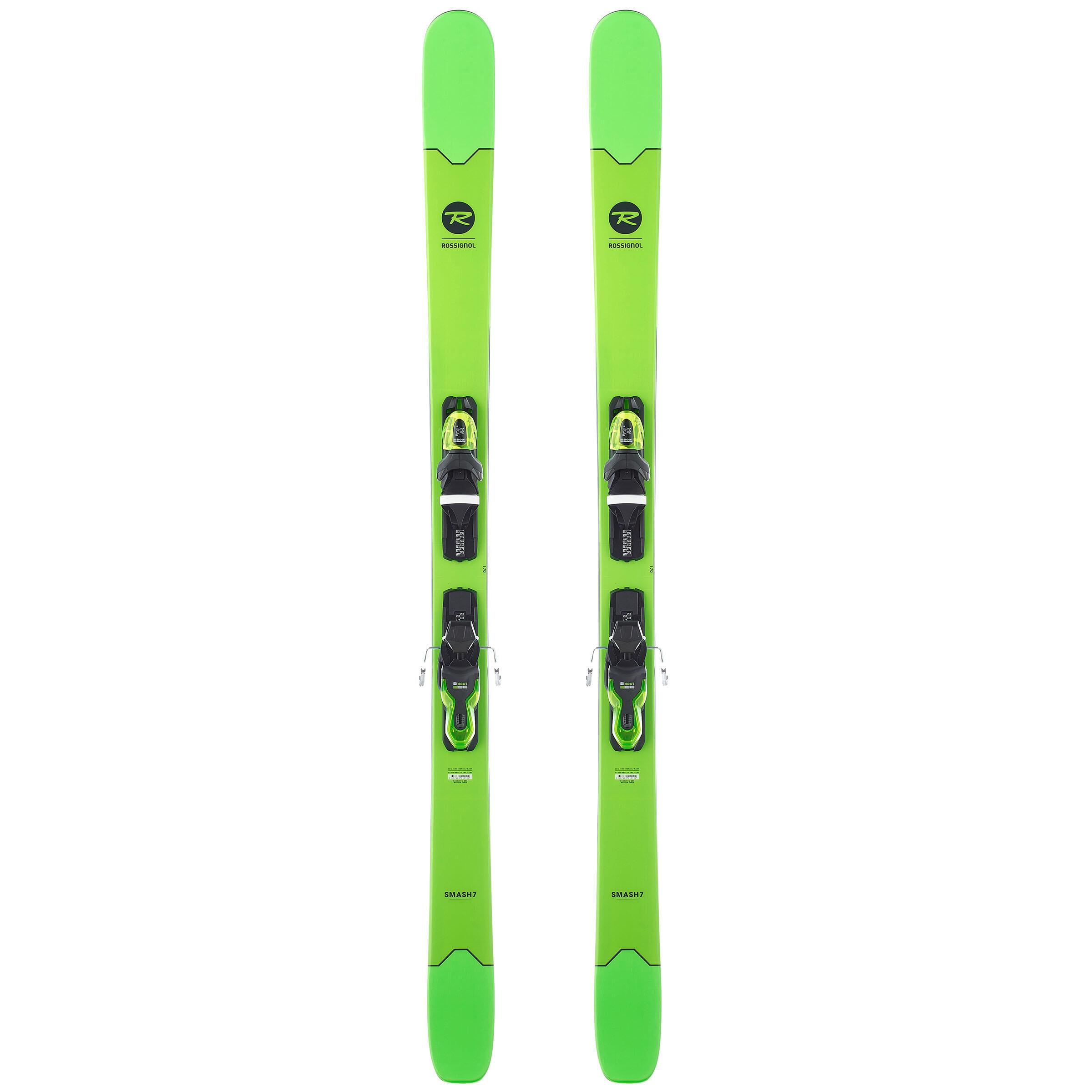 Rossignol Freeride ski's Smash 7 groen thumbnail