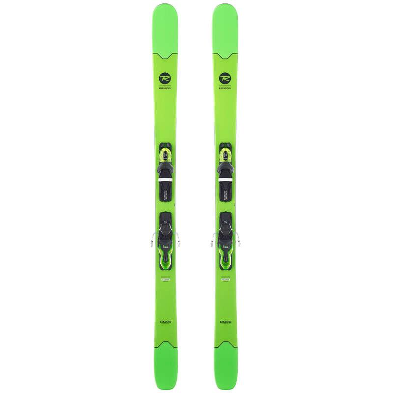 MEN'S FREERIDE SKIS Schi si Snowboard - Schiuri Smash 7 Verde  ROSSIGNOL - Schiuri, clapari, bete
