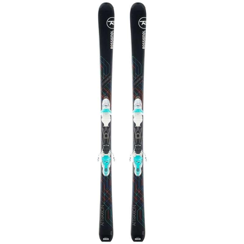 SKIS  OU BASTÕES DE PISTA NÍVEL PRINCIPIANTE MULHER Ski e Snowboard - Skis Mulher Rossignol Atraxion ROSSIGNOL - Ski e Snowboard