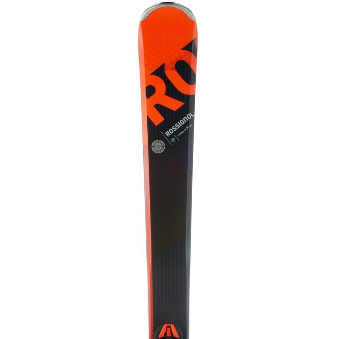 SKIS DE PISTE ALLMOUNTAIN HOMME EXPERIENCE 80  ORANGE - 1202046