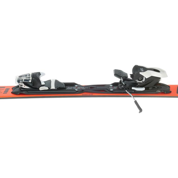 SKIS DE PISTE HOMME PURSUIT 100 ROUGE - 1202054