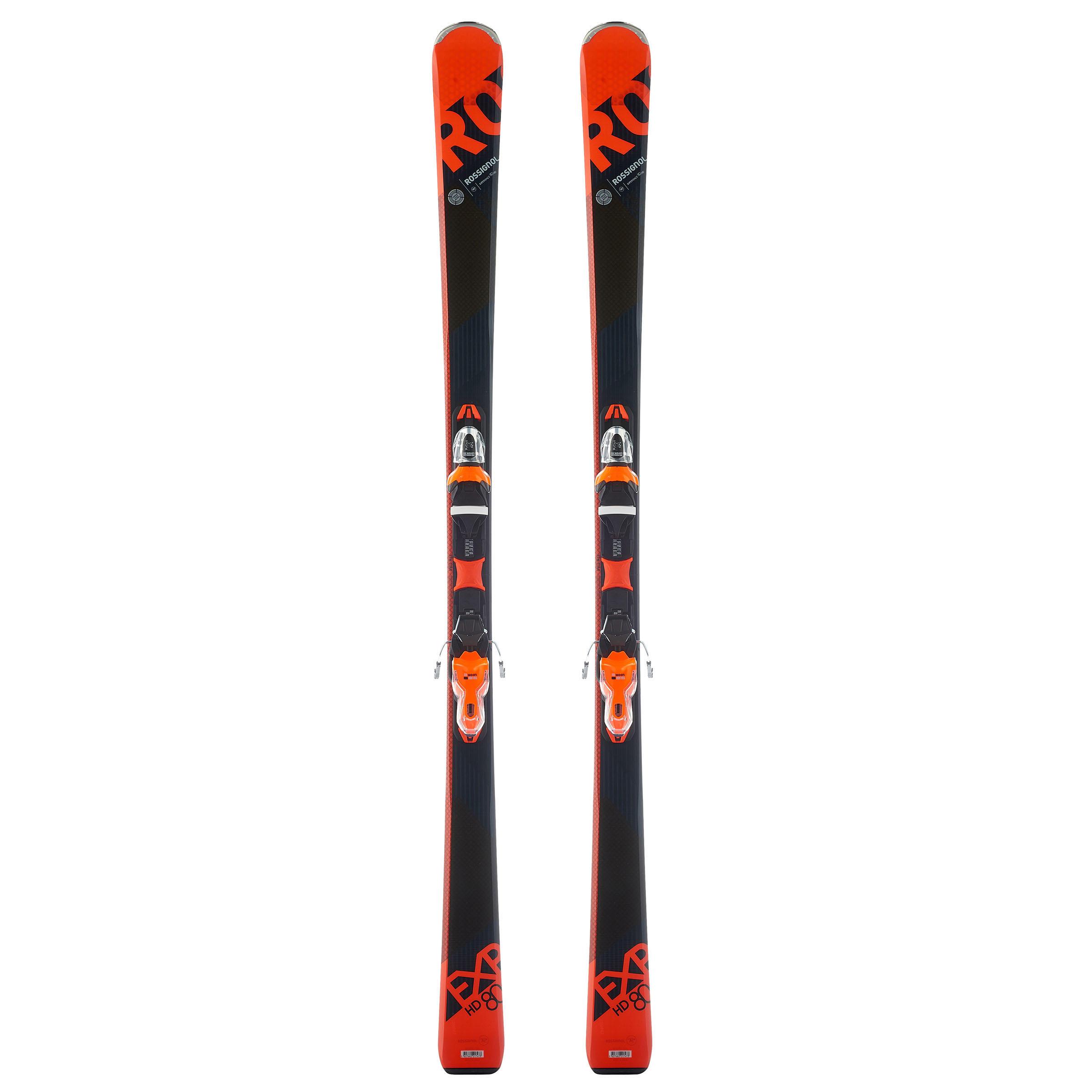 Rossignol Allmountain ski's voor heren Experience 80 oranje thumbnail