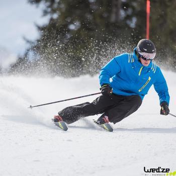 Casque de ski et de snowboard adulte Stream 550 S2 noir.