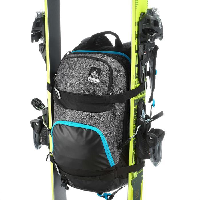 Sac à dos de ski reverse FS500 bleu jean