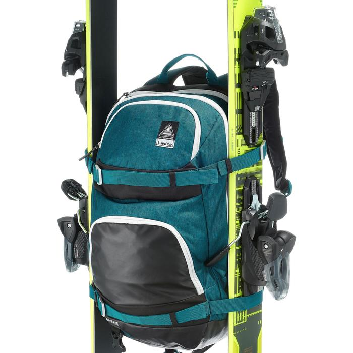 Skirugzak Reverse BP SKI FS500 petroleumblauw