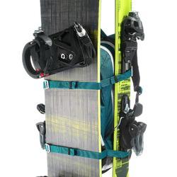 Mochila de esquí Reverse BP SKI FS500 petróleo