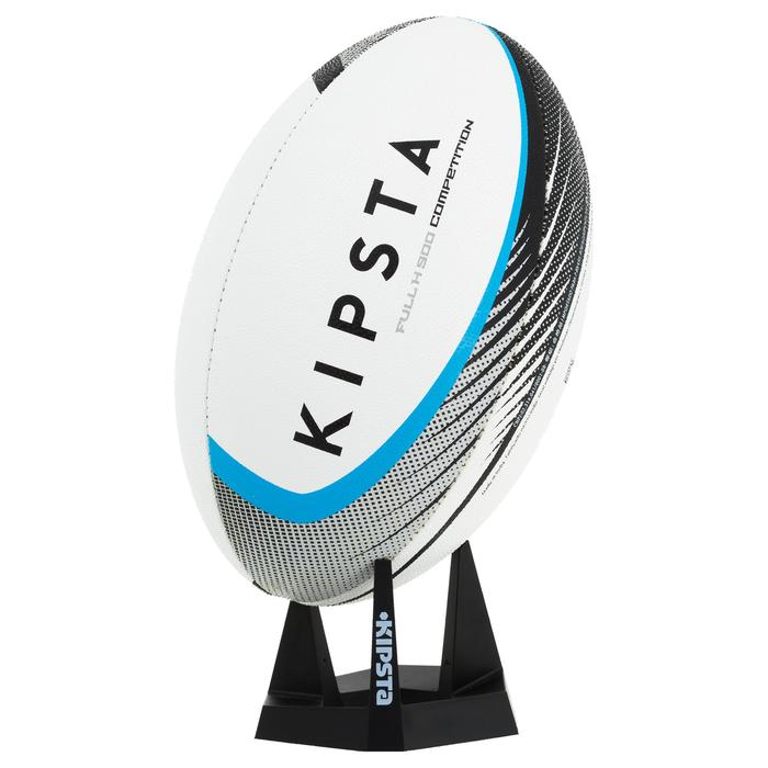 Tee Rugby Kipsta R100 negro