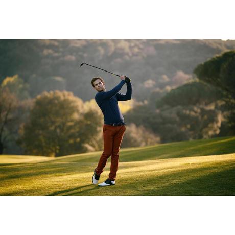 pantalon golf homme 500 noisette inesis golf. Black Bedroom Furniture Sets. Home Design Ideas