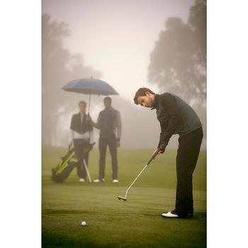 900 Men's Golf Waterproof Jacket - Grey and Black - 1202227