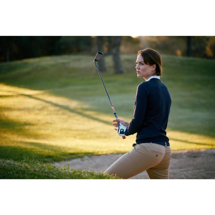 Women's Mild Weather Golf Trousers - Plum