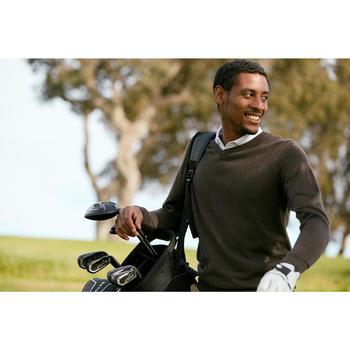 Golf-Pullover 100 Herren schwarz