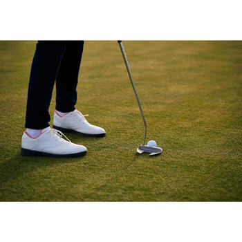 CHAUSSURES GOLF FEMME SPIKE 500 BLANCHES