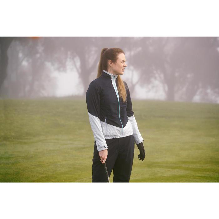 Dames regenjack 900 voor golf marineblauw en grijs - 1202270