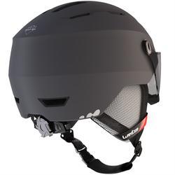 Skihelm voor volwassenen met vizier H350 grijs