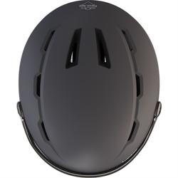 成人D-SKI安全帽搭配護目鏡H350 - 灰色