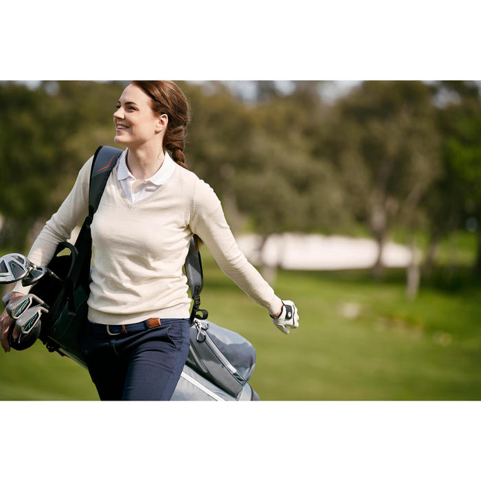 PULL GOLF TEMPS TEMPERE MARINE POUR FEMME