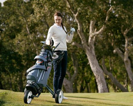 Met welk geschenk kan je iemand die golft blij maken? Een golftrolley!