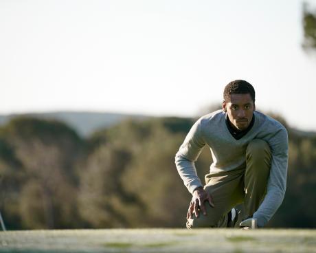 hoe blijf je geconcentreerd tijdens het golfen