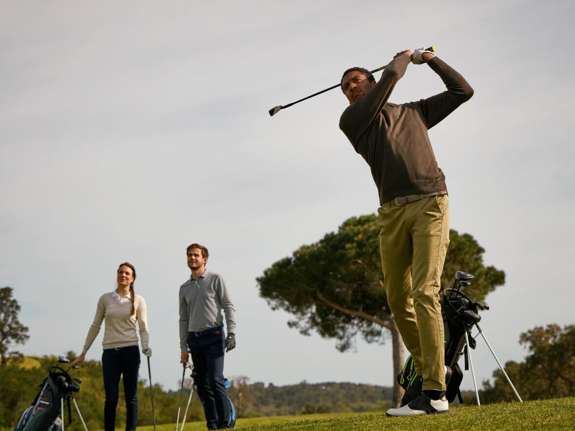 kracht hebben om te golfen je golfspieren trainen