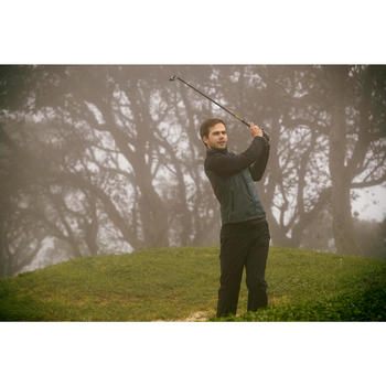 Heren regenbroek voor golf zwart