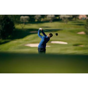 Golf Pullover warm Zip Herren dunkelblau