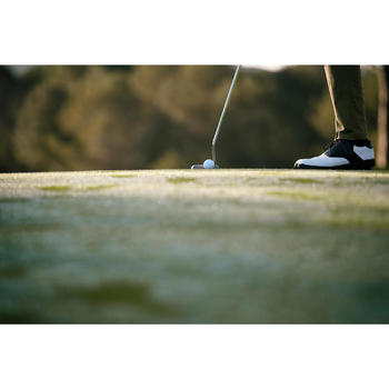 CHAUSSURES GOLF HOMME SPIKE 500 BLANCHES / NOIRES - 1202371