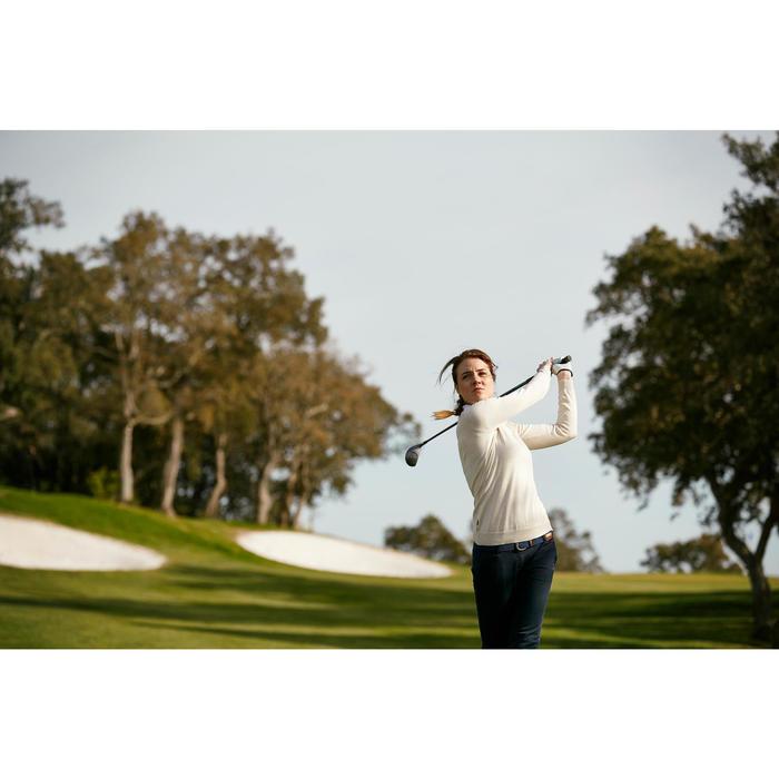 Golf-Pullover 500 Damen petrol
