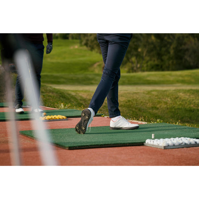 CHAUSSURES GOLF FEMME SPIKE 500 BLANCHES - 1202399