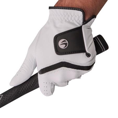 Gant de golf homme 500 confirmé et expert droitier blanc