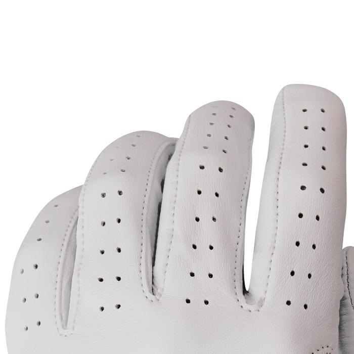 Golfhandschoen 500 voor heren, gevorderde en ervaren spelers, rechtshandig wit