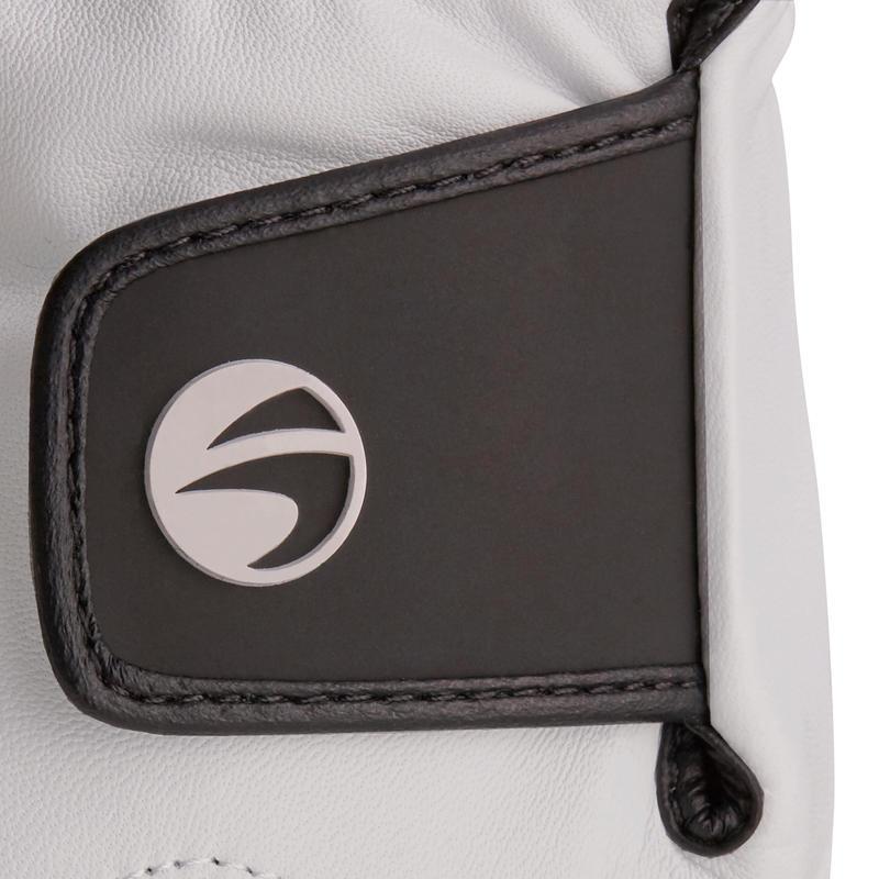 500 Men's Golf Advanced and Expert Glove - Right-Hander White