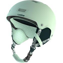 Casco de Snowboard y Esquí, Wed'ze H-FS 300, Adulto y Niño, Turquesa
