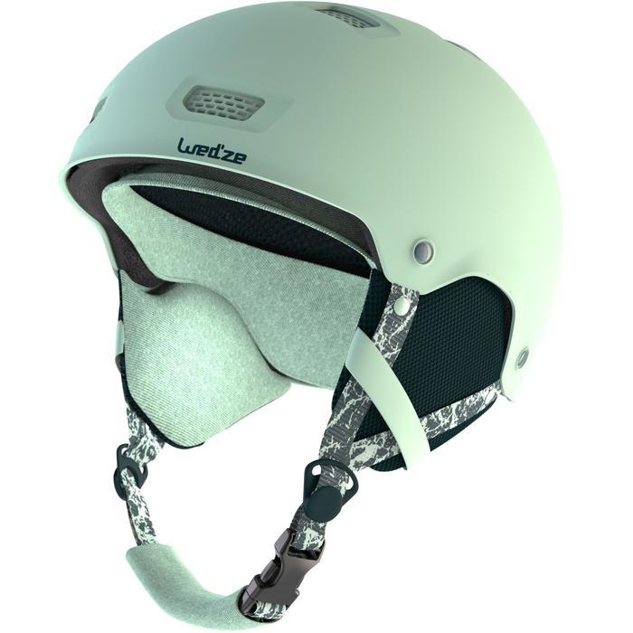 Ski-snowboardhelm volwassenen/kinderen H-FS 300 lichtblauw