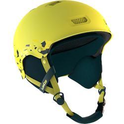 Casco de esquí y snowboard adulto H-FS 300 JR amarillo.