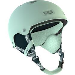 Casco de snowboard (y de esquí) adulto y júnior H-FS 300 azul claro