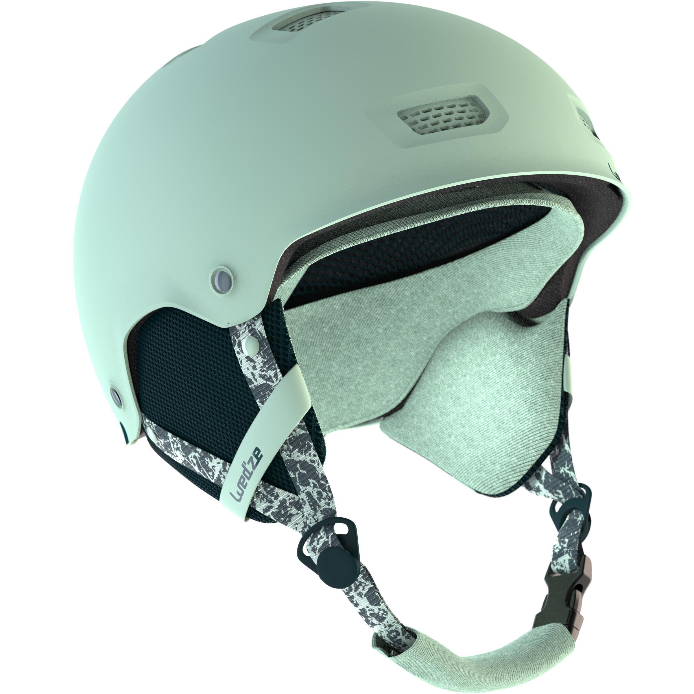 5c6913c359c Casco de snowboard y de esquí adulto y junior H-FS 300 negro Wed ze ...