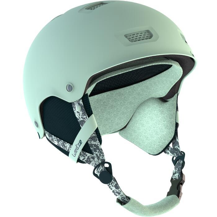 Casco de snowboard y de esquí adulto y junior H-FS 300 azul claro