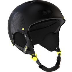 Casque de ski et snowboard adulte H-FS 300 noir / jaune.