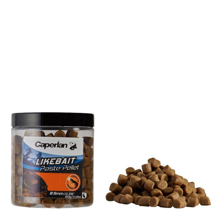Paste pellets garnaal 150 g voor zeehengelen