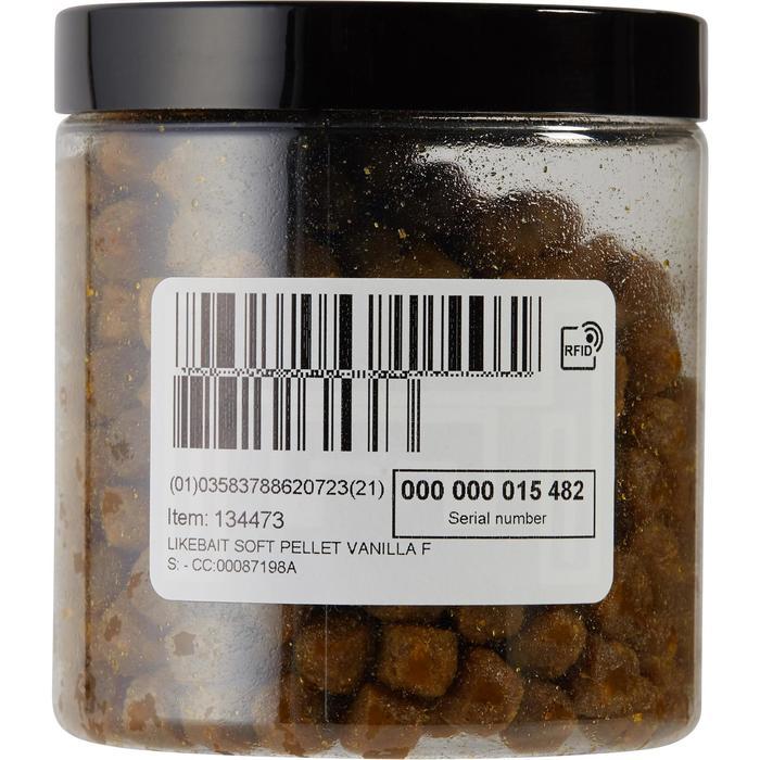 Likebait zachte pellets met vanille om op karpers te hengelen