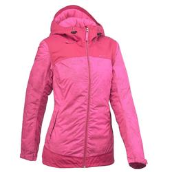 Women's Warm Waterproof Snow Hiking Jacket SH100 X-Warm - Pink