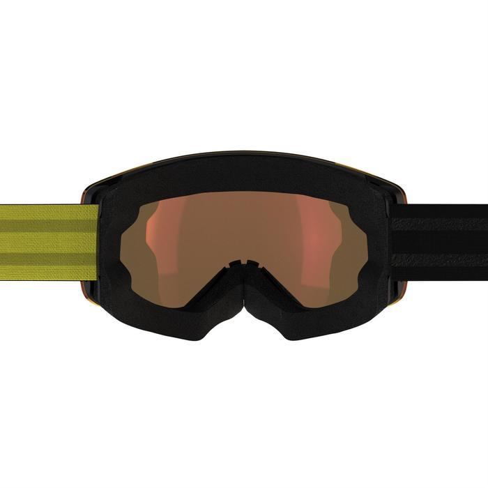 MASQUE DE SKI ET DE SNOWBOARD ADULTE ET JUNIOR G 520 BEAU TEMPS - 1202621