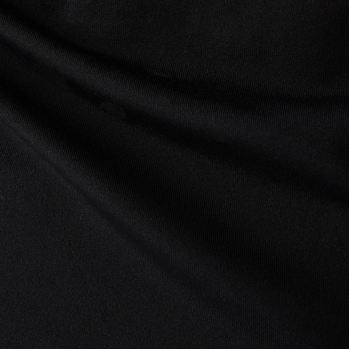 Ademend ondershirt met lange mouwen voor volwassenen Keepdry 100 zwart