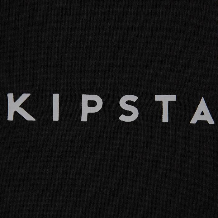 Keepdry 100 Adults' Football Long-Sleeved Base Layer - Black