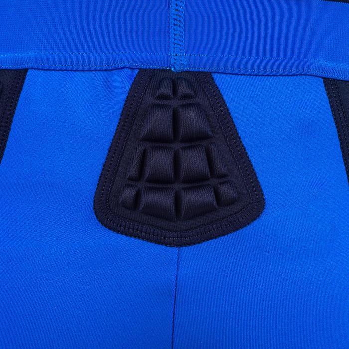 Short térmico protección rugby niños azul