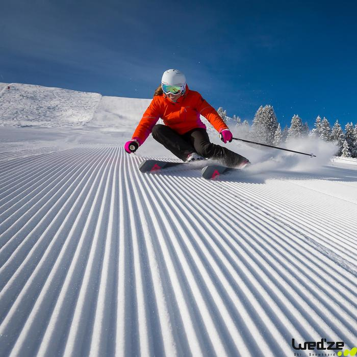 Dames skibroek Slide 500 blauw