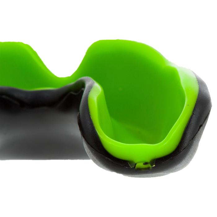 Mundschutz Virtuo Rugby Erwachsene schwarz/grün