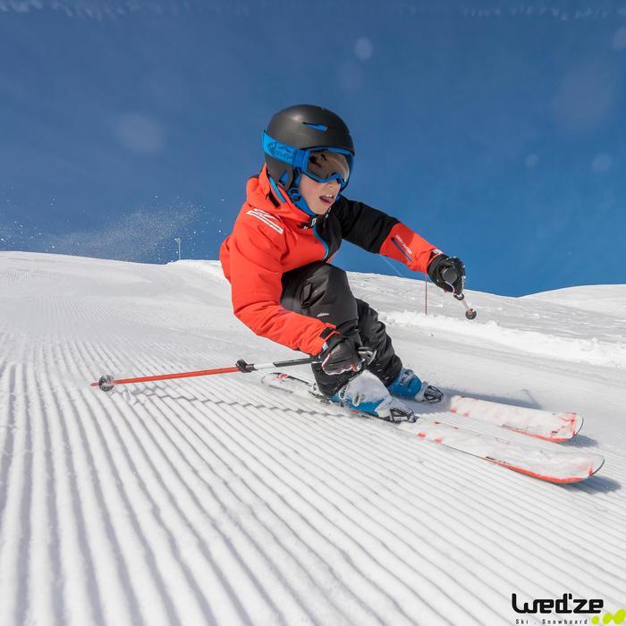 SKI- EN SNOWBOARDHELM KIND STREAM 500 ZWART